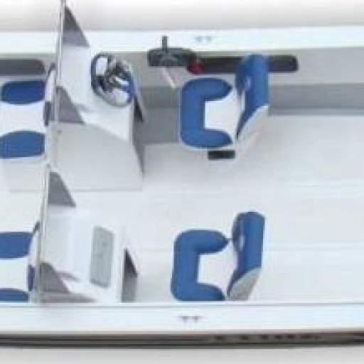 Casco Prinz 630 Pescador con 2 consolas