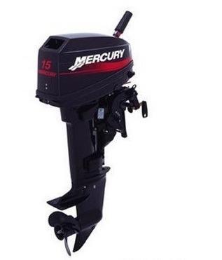 Motor MERCURY 15 HP 2T Pata Larga Con Caña