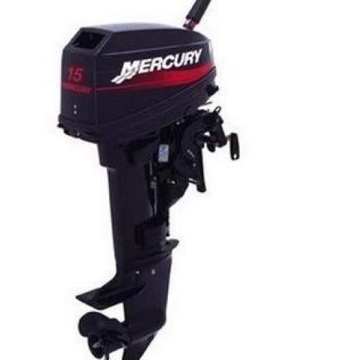 Motor MERCURY 15 HP 2T Pata Larga Con Caña [0]