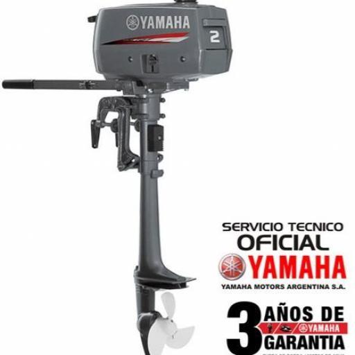 """Motor YAMAHA 2 HP 2T """"0KM"""" [0]"""