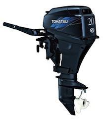 Motor TOHATSU MFS 20 HP C 4T