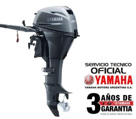 """Motor YAMAHA 20 HP 4T, Arranque Manual - PATA LARGA """"0KM"""""""