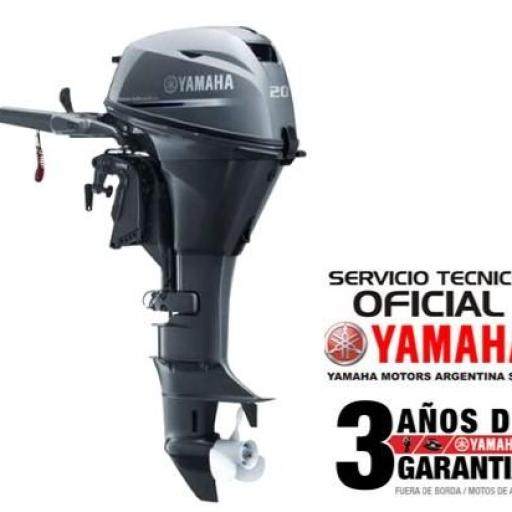 """Motor YAMAHA 20 HP 4T, Arranque Manual - PATA LARGA """"0KM""""  [0]"""