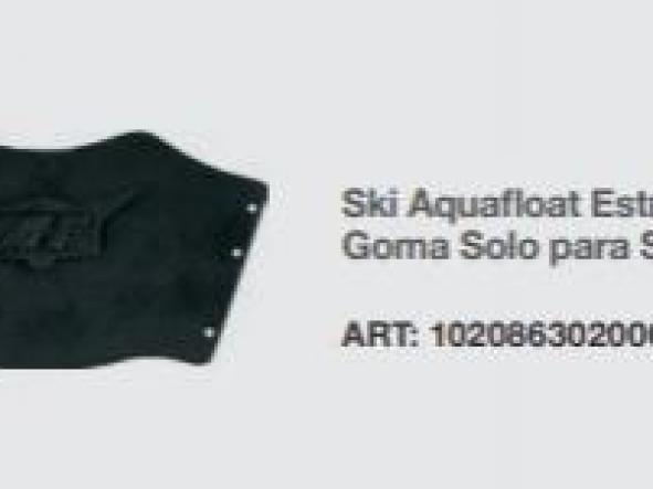 Ski Aquafloat Estribo de Goma Solo para Ski