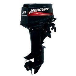 Motor MERCURY 30 HP LINEA SUPER 2T Con Caña, Pata corta.