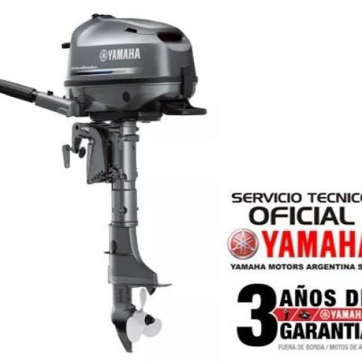 """Motor YAMAHA 4 HP 4T, Arranque Manual - PATA LARGA """"0KM"""" [0]"""