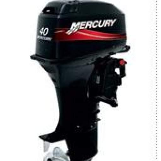 Motor MERCURY 40HP M 2T LINEA SUPER Pata corta  Manual Con Caña [0]