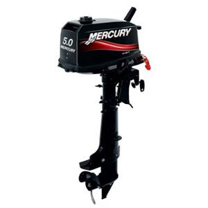 Motor MERCURY 5 HP 2T Con Caña