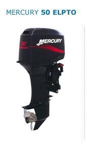 Motor MERCURY 50 ELPTO HP 2T Arranque Eléctrico, Power Trim, Inyección de Aceite, Instrumental Digital, Mandos a Distancia (Pata Larga)