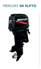 Motor MERCURY  60ELPTO HP 2T Arranque Eléctrico, Power Trim, Inyección de Aceite, Instrumental Digital, Mandos a Distancia (Pata Larga) TRANSMISION REFORZADA