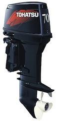 Motor TOHATSU M70CEPTO HP 2T Pata corta