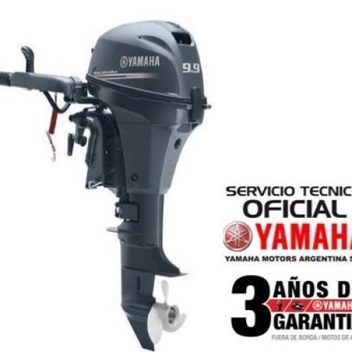 """Motor YAMAHA 9.9 HP 4T, Arranque Manual - PATA LARGA """"0KM"""" [0]"""