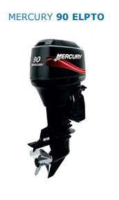 Motor MERCURY 90HP ELPTO 2T Arranque Eléctrico, Power Trim, Inyección de Aceite, Instrumental Digital, Mandos a Distancia (Pata Larga)