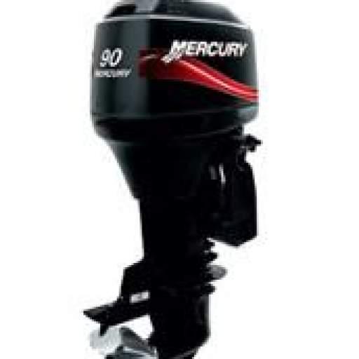 Motor MERCURY 90HP ELPTO 2T Arranque Eléctrico, Power Trim, Inyección de Aceite, Instrumental Digital, Mandos a Distancia (Pata Larga) [0]