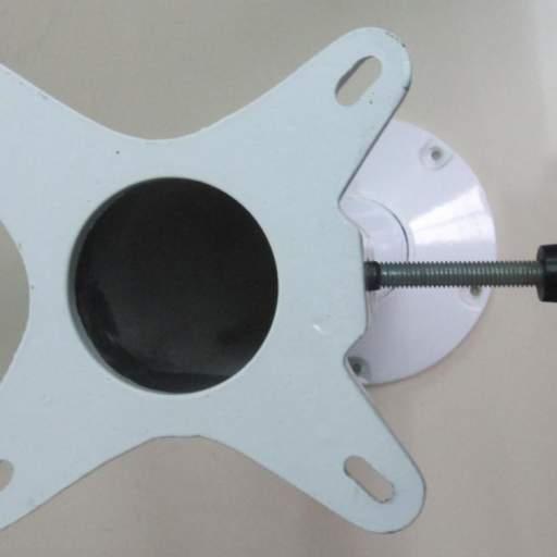 Base de Aluminio Giratoria 20 cm   [0]