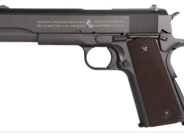 Pistola Airsoft Colt 191 Full Metal Blowback 6mm Bbs