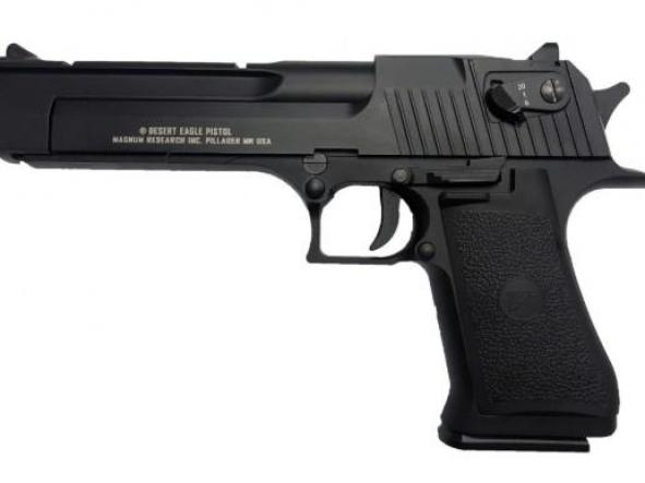 Pistola Airsoft Desert Eagle Full Auto Blowback 6mm Co2