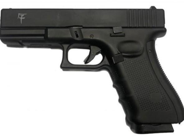 Pistola Airsoft G 17 Akira Saigo Blowback Metal Slide 6mm