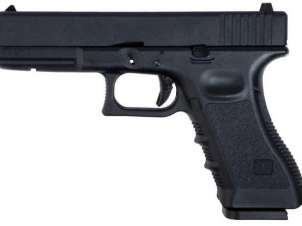 Pistola Airsoft G 17 Saigo Blowback Metal Slide 6mm