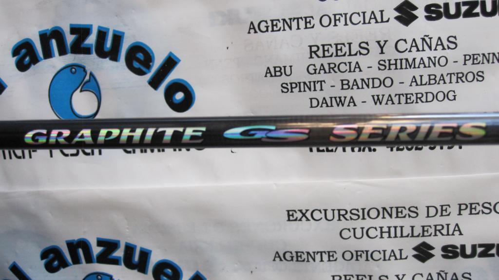 Caña Bass Pro Shop Graphite Series 180 1 tramo