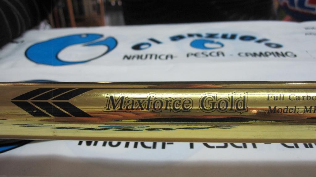Caña Cougar Maxforce Gold 400 6 tramos