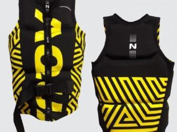 Chaleco Aquafloat Neoprene Pathdarknprene Yellow TXXL