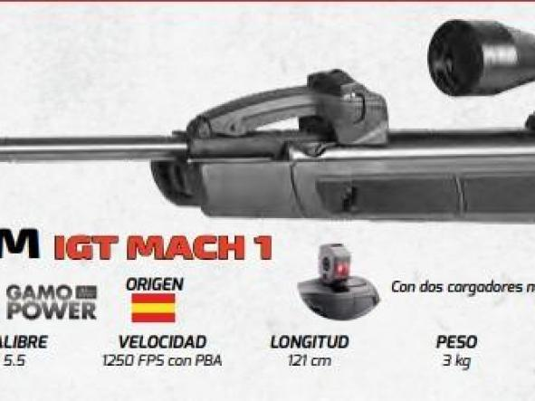 Rifle Gamo REPLAY-10 MAGNUM IGT MACH 1