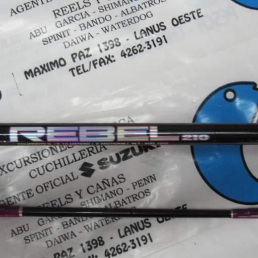 Caña Albatros Rebel 210 (2,10m) 2 TRAMOS