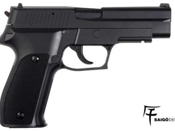 Pistola Airsoft Saigo 226 CORREDERA FIJA 6mm