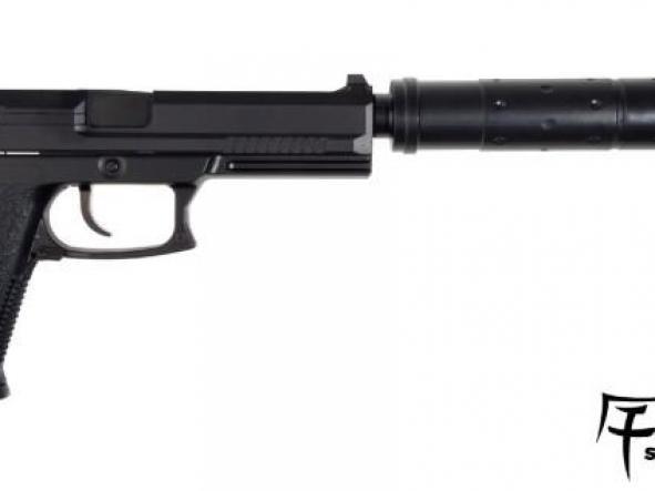 Pistola Airsoft Saigo 23 SOCOM 6MM con supresor