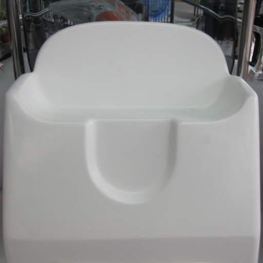 Consola tipo Zodiak SIN acrílico, barra de acero CON asiento  [1]