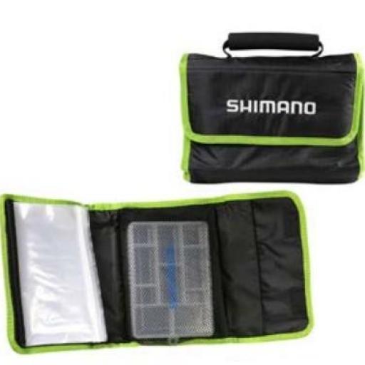 Porta Leader / Señuelos Shimano Travel Wrap