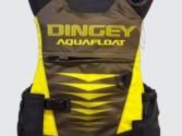 Chaleco aquafloat Kayak Dingey Amarillo T 12