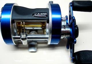 Reel rotativo Caster 400 Marine Sport