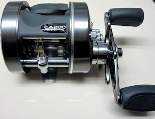 Reel rotativo Caster Plus 200 Marine Sport