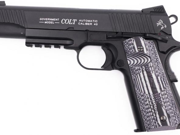Pistola Airsoft Colt 191 Combat Full Metal Blowback 6mm Bbs