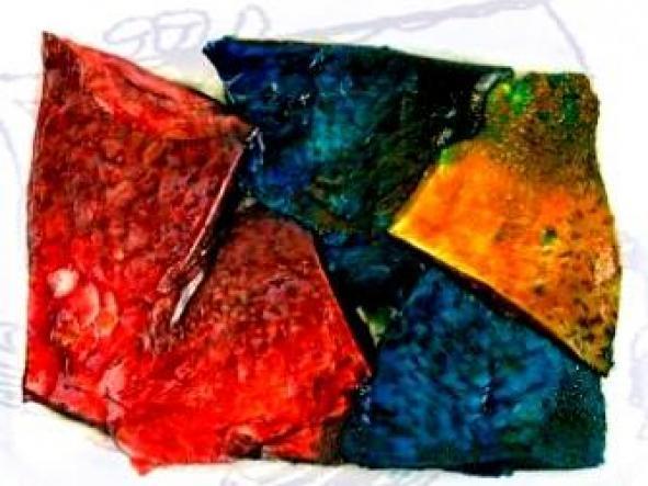 Carnada Gran Pique embasada al vacio filet coloreado