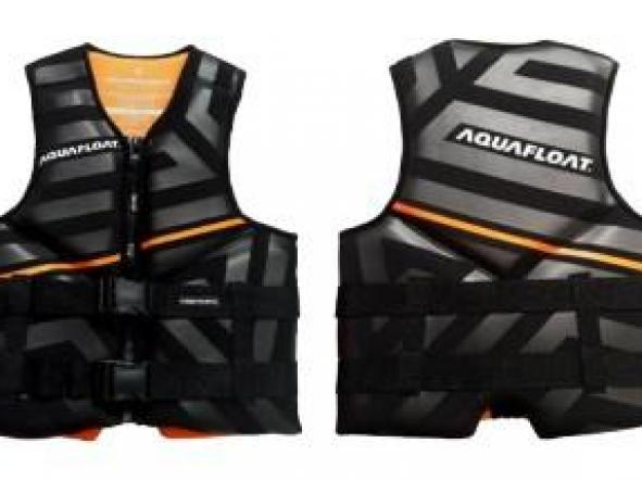 Chaleco Aquafloat Neoprene Linesnprene - Orange TXL