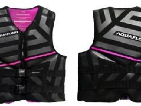 Chaleco Aquafloat Neoprene Linesnprene - Pink