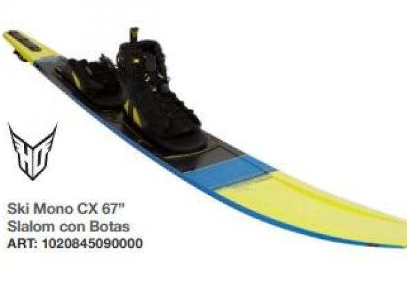 """Ski Mono CX 67"""" Slalom con Botas"""