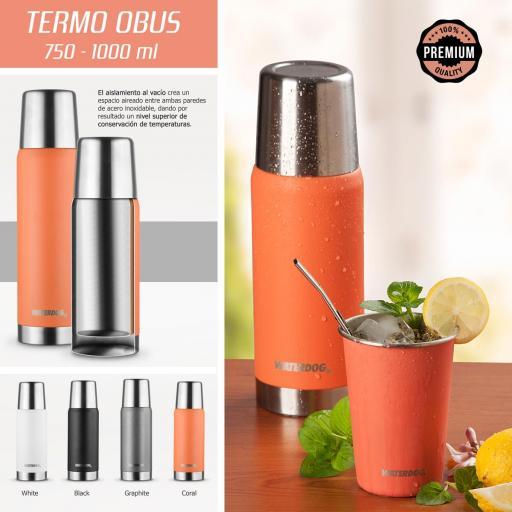 Termo Waterdog OBUS750CO 0.750 L
