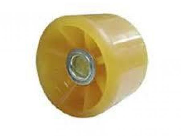 Rodillo recto para camas 80 mm de diametro x 108mm Termoplastico