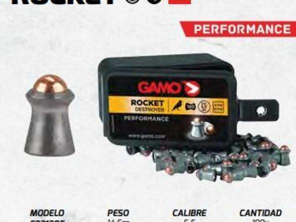 Balines gamo ROCKET