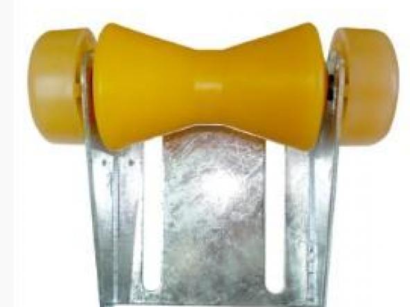 soporte con rodillo  190 mm Termoplastico