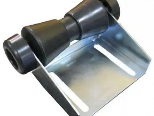 soporte con rodillo 150 mm y tapas
