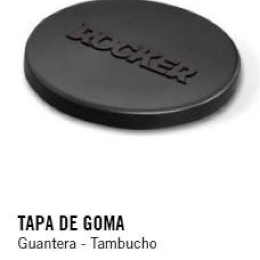 TAPA DE GOMA Guantera - Tambucho