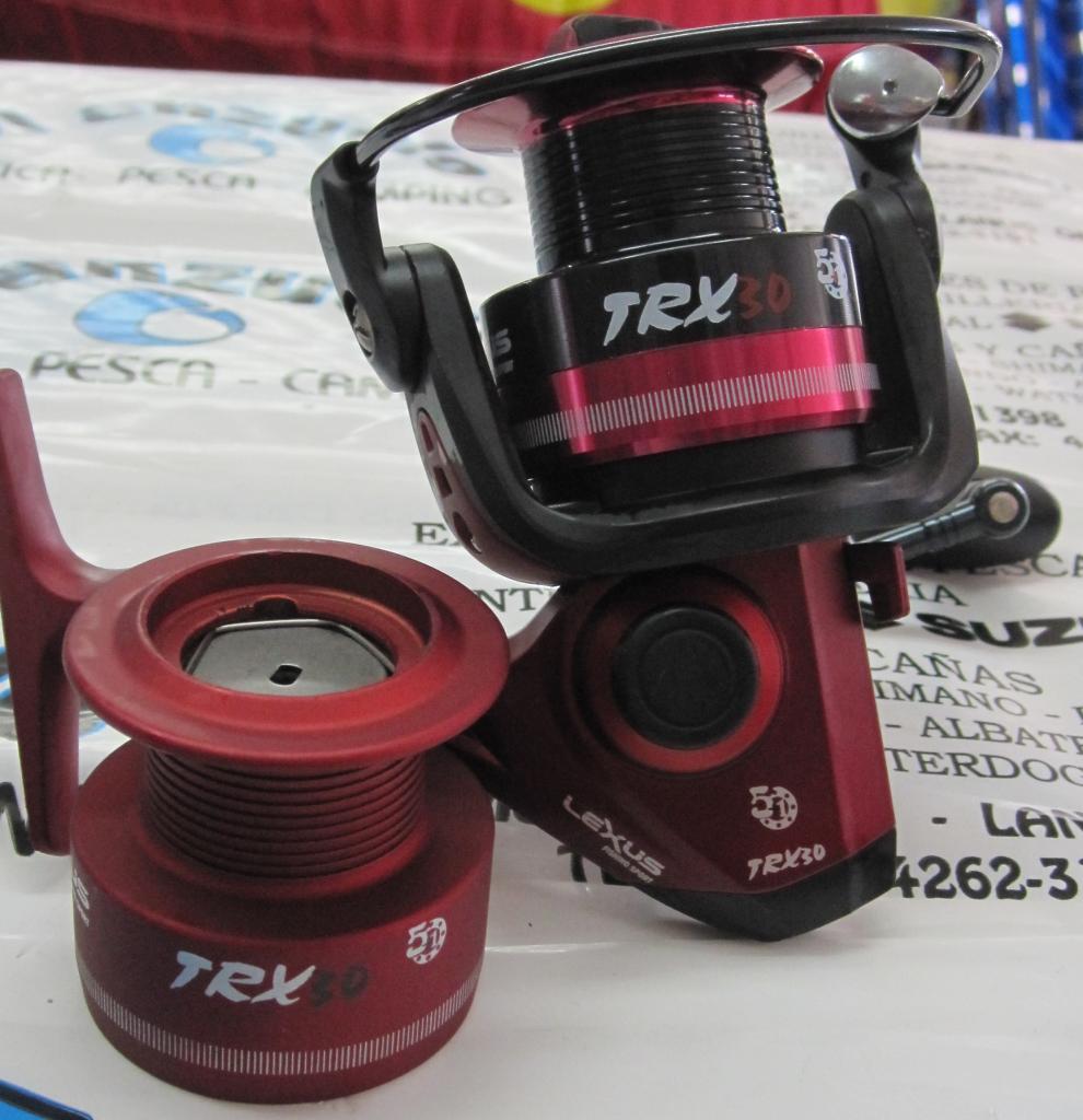Reel Frontal lexus TRX 30