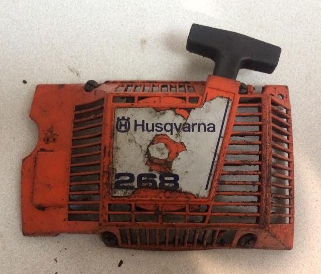 Arranque Husqvarna 268
