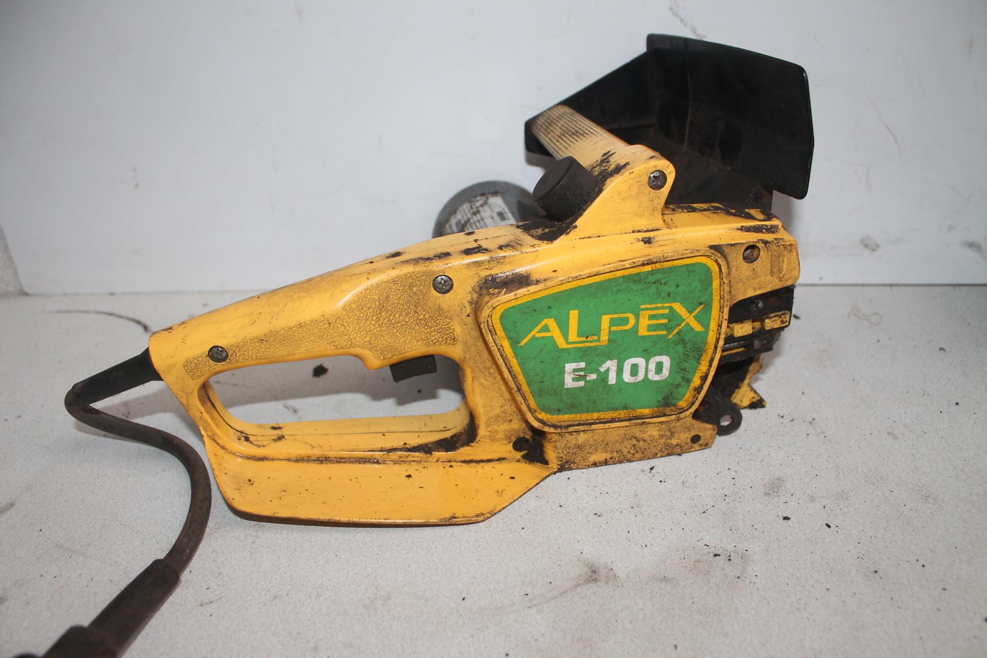 Despiece Alpina E-100