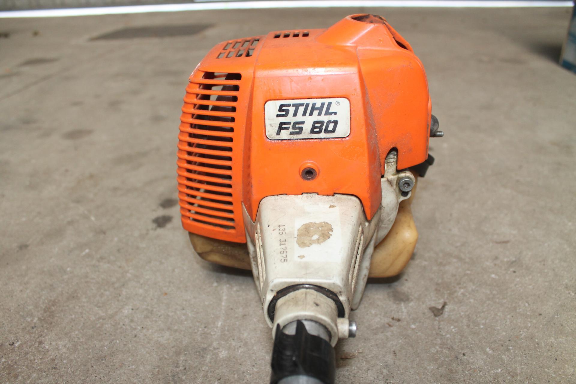 Despiece Stihl FS80